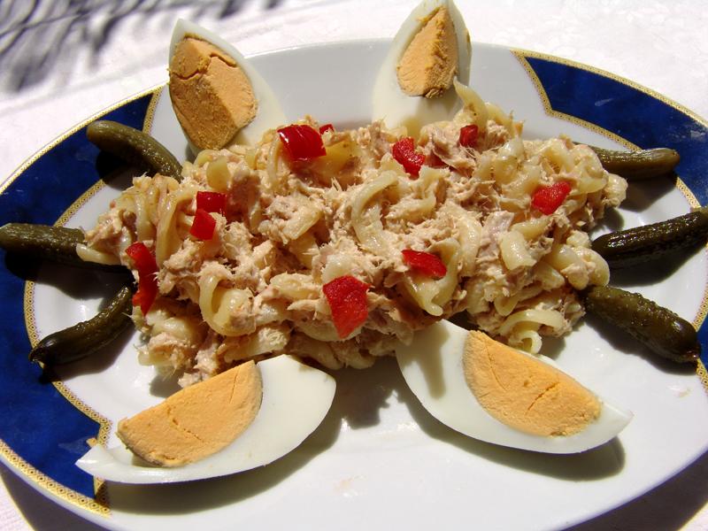Pasta Salad with Tuna Fish