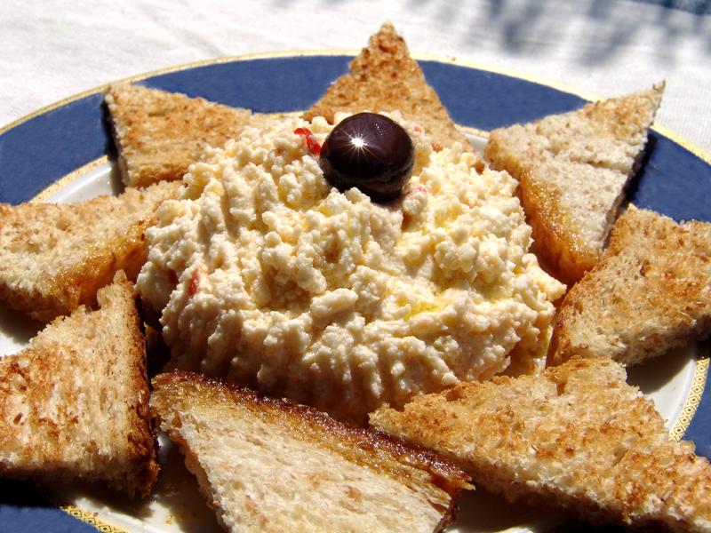 'Hot' Cheese (Tyrokafteri)