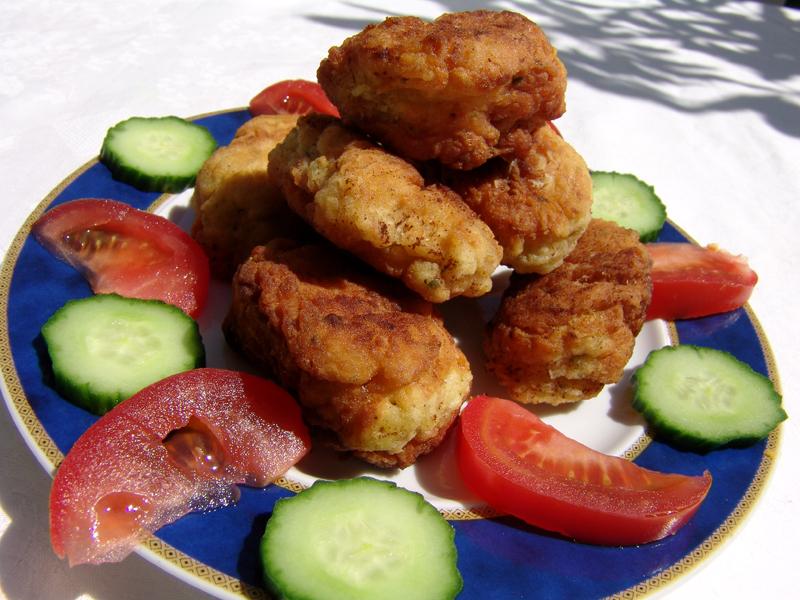 Chickpea croquettes