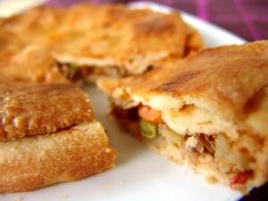 Meat & Vegetable Pie