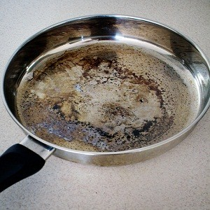 Removing Burned Food From Pots And Pans