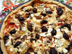 Greek Pizza