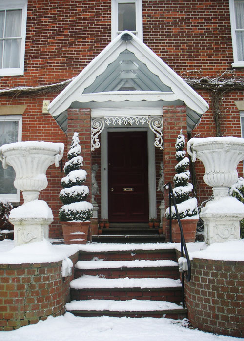 Keep your front steps ice-free