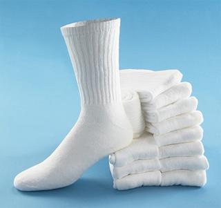 Clean White Socks