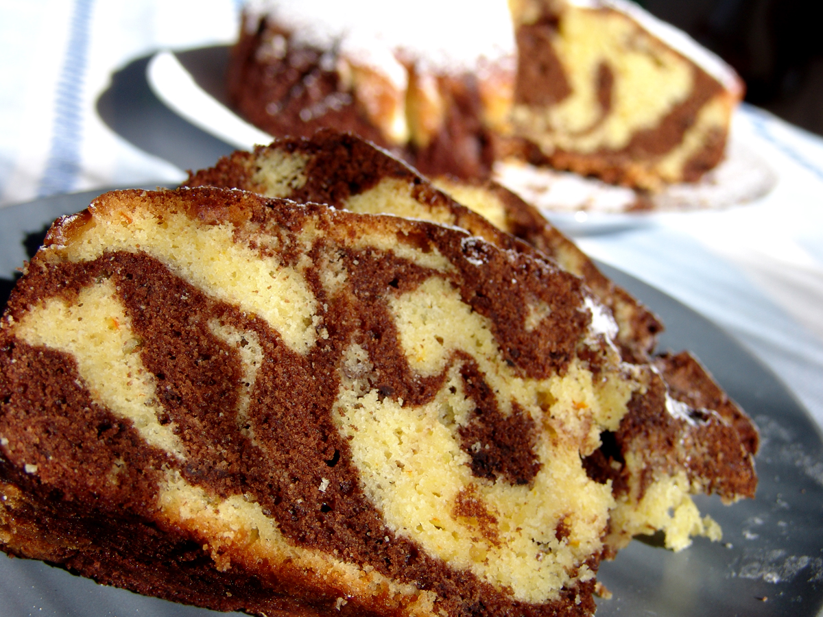 Vanilla And Chocolate Cake Images : Image Chocolate And Vanilla Marble Cake Download