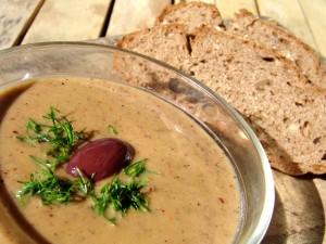 Vinaigrette with olives